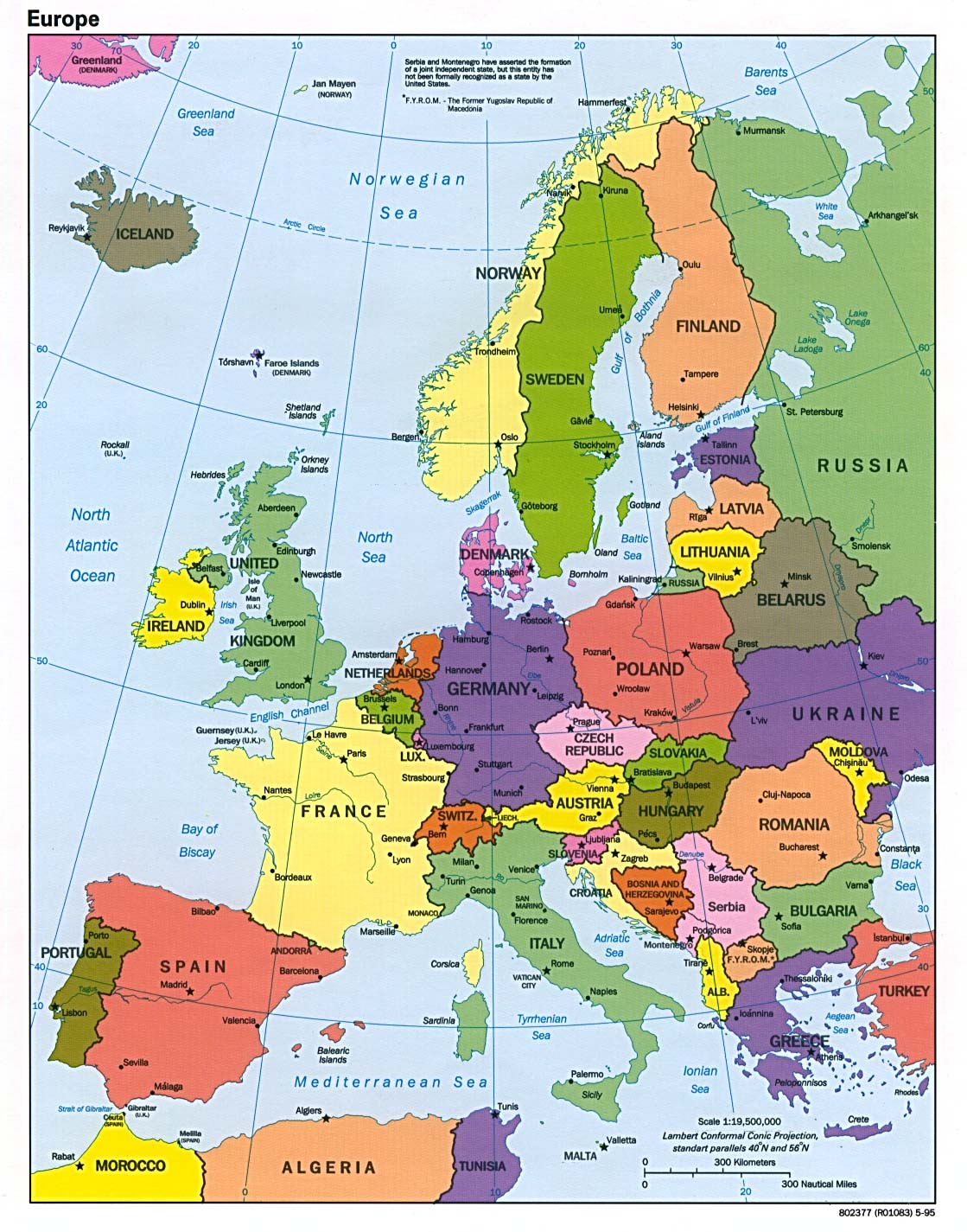 How Many Countries Are In Europe? - Hosbeg.com