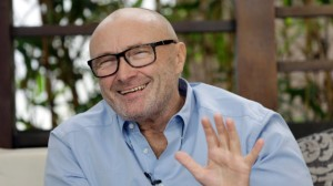 Phil Collins during an interview