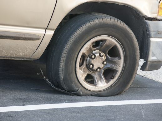 What To Do When You Have A Tire Blowout While Driving ...
