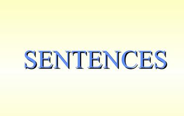 loose sentences and periodic sentences