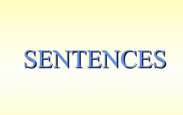 loose sentences and periodic sentences