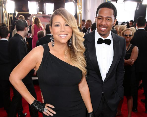 Mariah Carey and Nick Cannon in happier times.