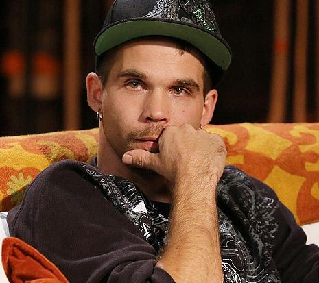 Jeremiah Rabar, one of the stars in TLC's reality series Breaking Amish, was arrested after yelling obscenities at police.