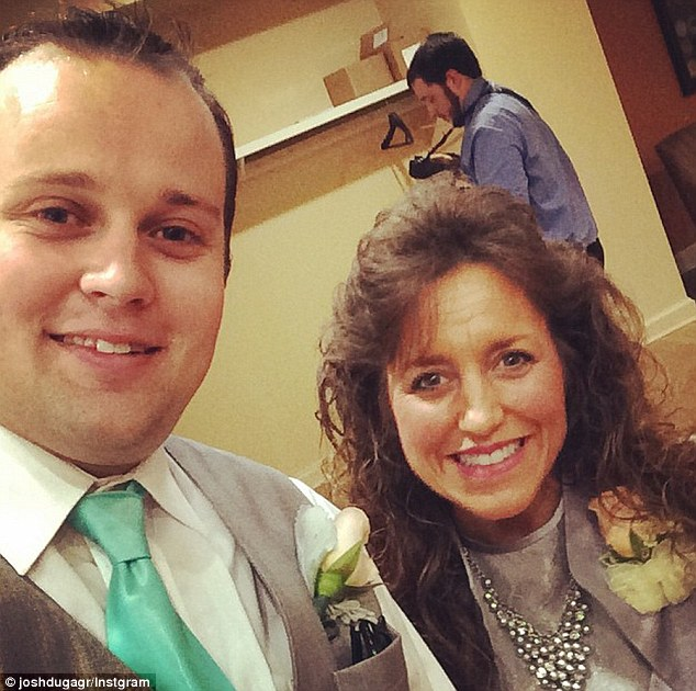 """Josh Duggar and his mother Michelle Duggar both star in TLC's hit reality show """"19 Kids and Counting""""."""