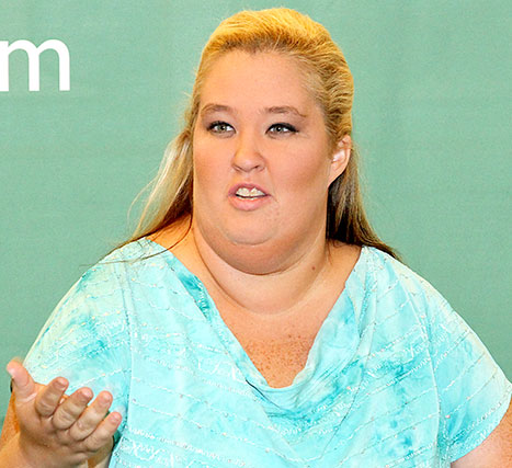 Mama June is frequently seen squinting because she has an impaired vision.