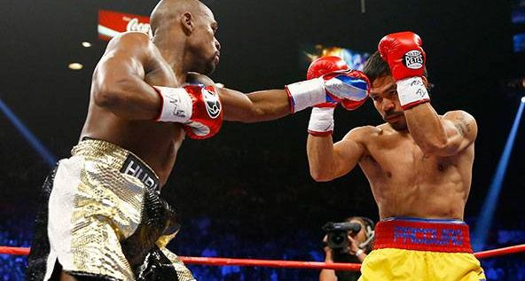 Floyd Mayweather defeated Manny Pacquiao by unanimous decision. The Mayweather-Pacquiao fight was the richest and biggest fight ever.