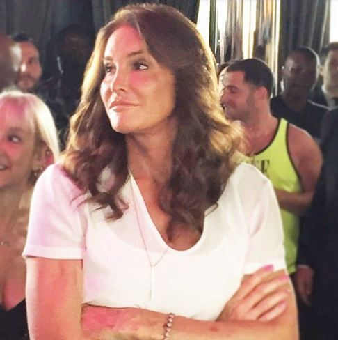 Caitlyn Jenner stepped out during the annual LGBT Pride celebration in New York City.