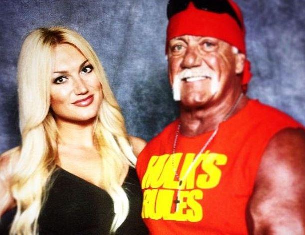27-year-old Brooke Hogan and father Hulk Hogan.