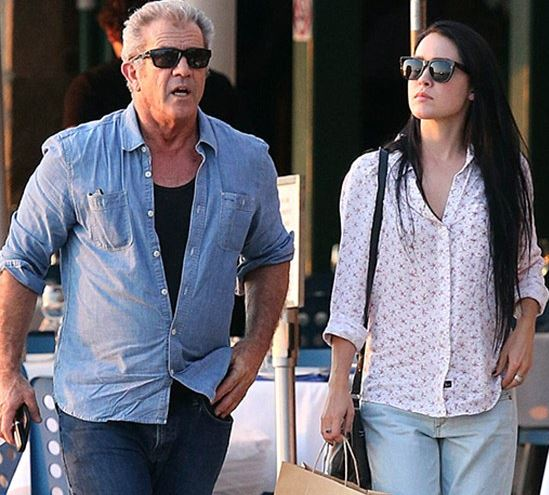 59-year-old actor Mel Gibson and his girlfriend Rosalind Rossi.