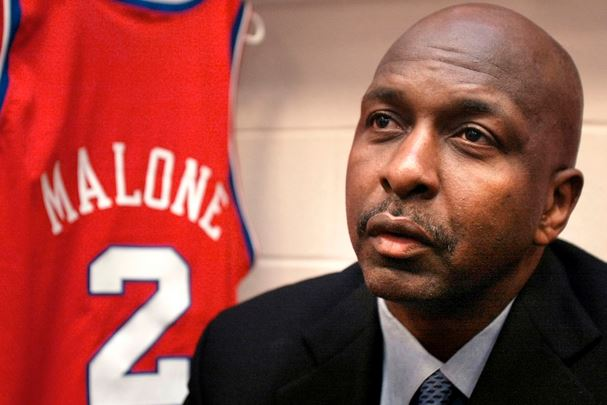 Legendary American basketball player Moses Malone.