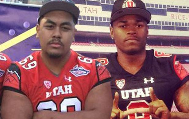The two University of Utah players who were shot on Saturday night in Salt Lake City.