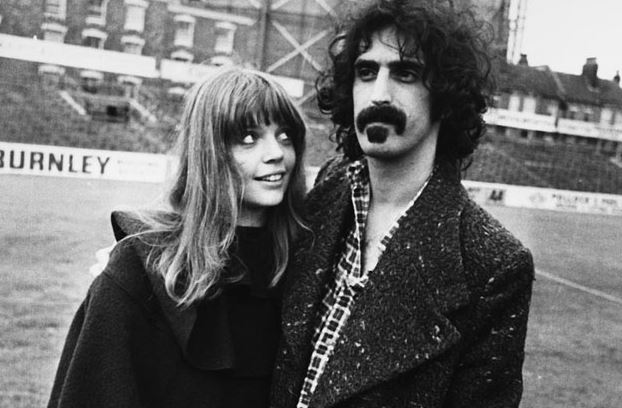 Frank Zappa and Gail Zappa back in 1972.