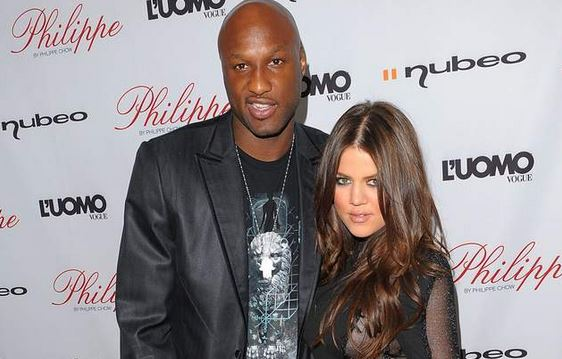 Odom and his estranged wife, Khloe Kardashian.