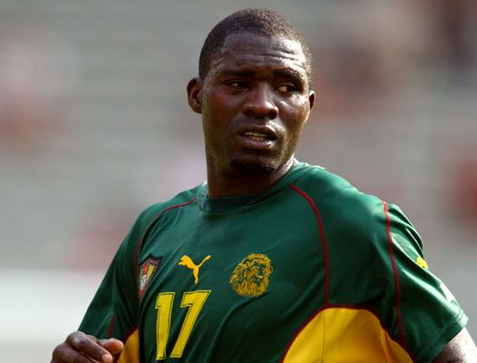 Marc-Vivien Foe during his final game on June 26, 2003.