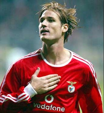 Hungarian international Miklos Feher.