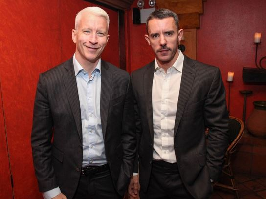 Anderson Cooper and Benjamin